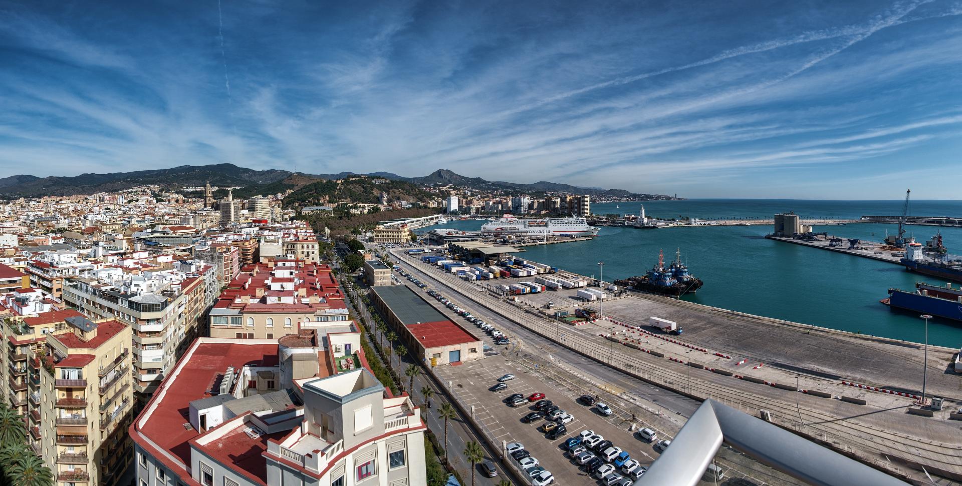 Vista panorámica desde la terraza de AIC ABOGADOS