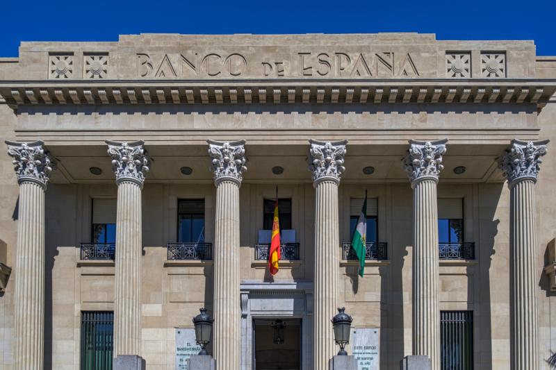 Foto del Banco de España en Málaga